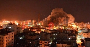 news1_gaza_night_fire